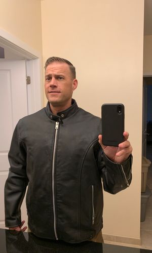 Leather Riding Jacket w/ 3M Thinsulate for Sale in Arlington, VA