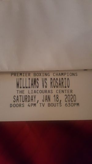 2 tickets for sale for Sale in East Norriton, PA