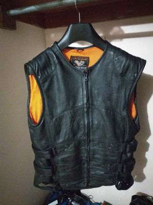 Motorcycle leather vest size M for Sale in Chula Vista, CA