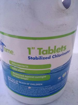 "Pool Time 1"" Tablets Chlorine for Sale in Riverside, CA"