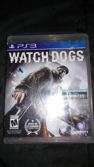 PS3-watch dogs for Sale in Auburn, IN