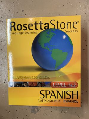 Rosetta Stone for Spanish for Sale in Quincy, IL