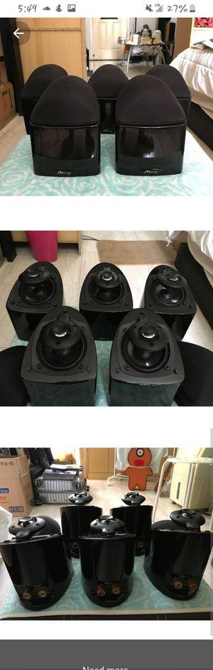 MIRAGE NANOSAT SURROUND SOUND SPEAKERS for Sale in San Bernardino, CA