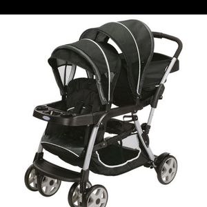 Stroller double stroller doble coche for Sale in Miami, FL