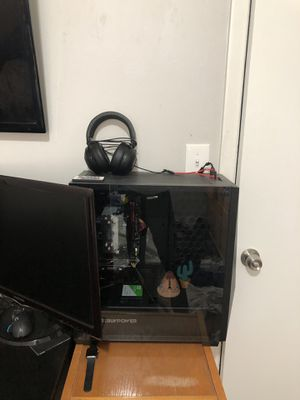 IBuyPower Gaming Destop, keyboard, 2 monitors, headset, and mouse. for Sale in Tampa, FL