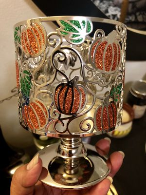 Pumpkin Candle Holder! New! for Sale in Baldwin Park, CA