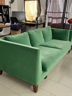 Green Ikea couch, has to be gone by friday 5th for Sale in Los Angeles,  CA
