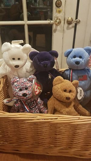 Ty Beanie Baby Bears $8.50 each for Sale in Campbell, CA