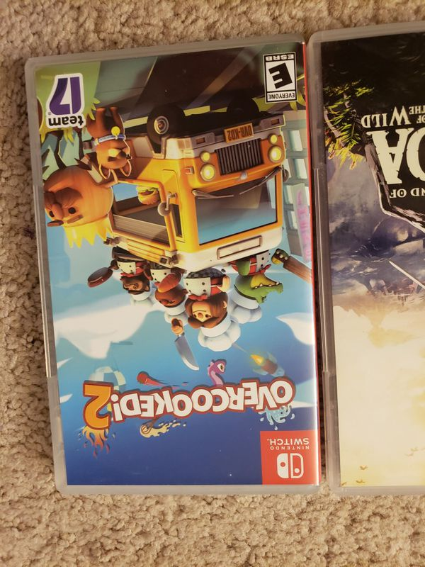 EMPTY CASES ONLY Nintendo switch games
