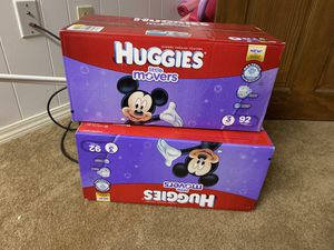 Huggies baby diapers for Sale in Worcester, MA