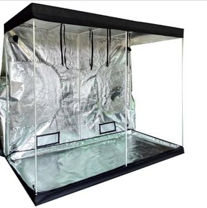 8x4 heavy duty Grow tent all metal corners and frame. More equipment available in description: LEDs lec fans carbon filters more for Sale in Colorado Springs, CO
