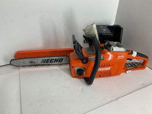 ECHO CCS-58v brushless battery chainsaw w batt/charger 85757 for Sale in Federal Way, WA