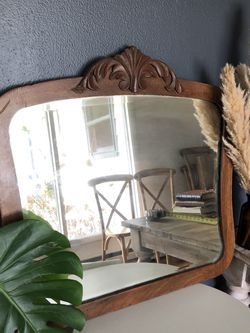 Solid Wood Vintage Mirror for Sale in Newberg,  OR