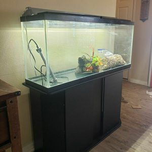 55 Gallon Fish Tank And Stand for Sale in Edgewood, FL