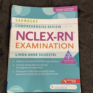Saunders NCLEX RN Nursing Book for Sale in Des Plaines, IL