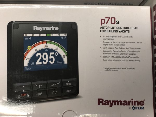 Raymarine EV-100 p70 Tiller Pilot Pack. BRAND NEW...!!!Serious inquires only.