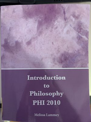Introduction to Philosophy PHI2010 for Sale in Hialeah, FL