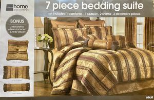 Queen Comforter 7 Piece Set for Sale in Naperville, IL