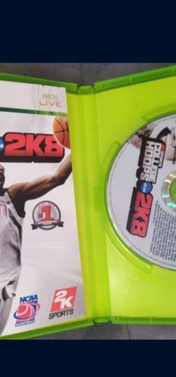 Ncaa College Hoops 2k8 for Sale in West Carson,  CA