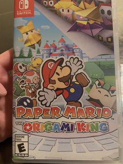 Paper Mario: The Origami King for Sale in Bellevue,  WA