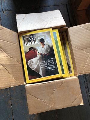 National Geographic Magazine's 90s-80s for Sale in Brockton, MA