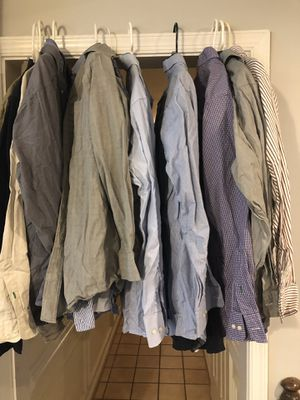 Men's shirts 15 1/2 x 33 for Sale in Manassas Park, VA