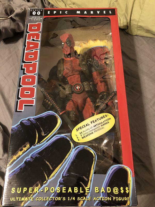Deadpool figure $125