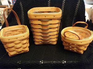 Vintage Longaberger Baskets for Sale in Billings, MT