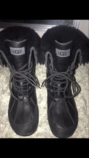 NEW Men Black Ugg boots! for Sale in UNIVERSITY PA, MD