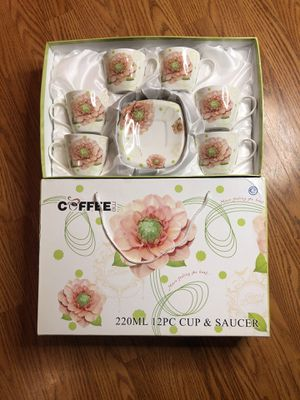 12pc Cup & Saucer Set for Sale in Reisterstown, MD