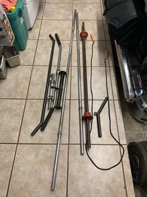 Steel weights and weight lifting equipment. I have over 500 lbs of steel weights. .30 cents a pound. for Sale in Fort Lauderdale, FL