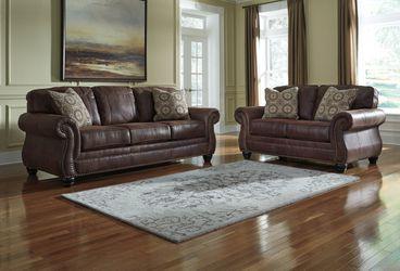 💥 New Ashley Breville Espresso Living Room Set (Sofa & Loveseat) for Sale in Beltsville,  MD