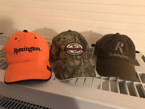 Remington hunting hats SET of 3 for Sale in Lexington, NC