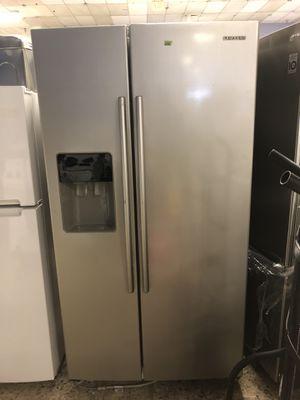 36by69 samsung side by side fridge stainless steel with warranty for Sale in Woodbridge, VA