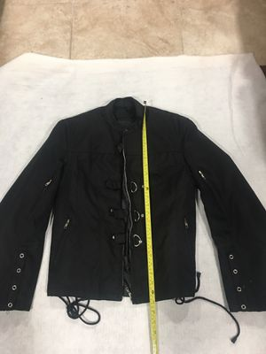 Jafrum motorcycle jacket size large for Sale in Elmwood Park, NJ