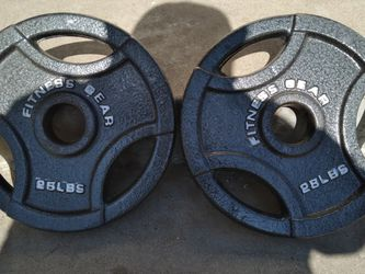 25 lb olympic pair for Sale in Fresno,  CA