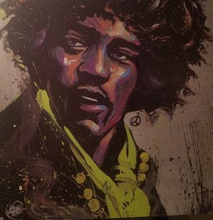 one of a kind Jimmy Hendrix artwork for Sale in Portland, OR