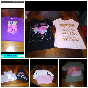 Girls 8 piece name brand lot size 10 for Sale in Waterford, PA