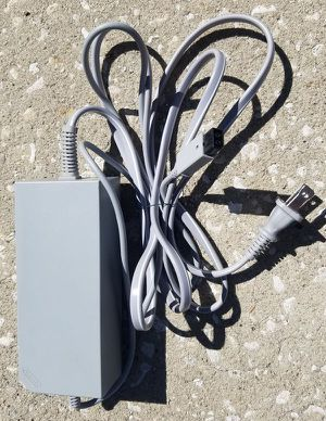 Wii power adapter and a/v cable for Sale in Kissimmee, FL