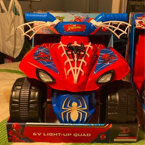 Spider Man V6 Ride On Quad for Sale in Damascus, OR