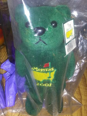 2001 Masters Bear for Sale in Sumter, SC