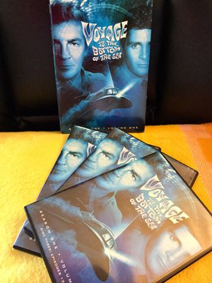 3 Adventure MOVIE DVD / Voyage to the bottom of the Sea * Season One includes 3 DVD 📀📀📀 😎👍 for Sale in Alexandria, VA
