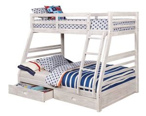 Twin full bunk bed $399 Grand Opening sale for Sale in Fresno, CA