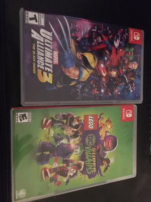 NINTENDO SWITCH GAMES MARVEL LEGO for Sale in Parkville, MD