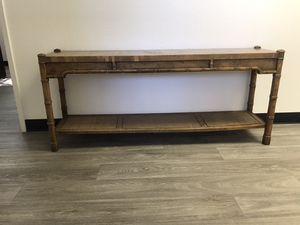 Console Table - Rustic Walnut for Sale in Mesa, AZ
