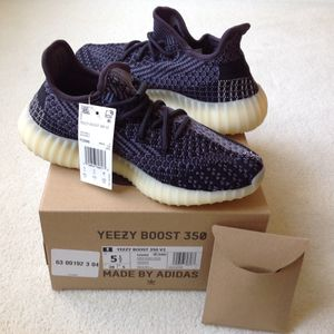 Adidas Yeezy Boost 350 V2 Asriel Carbon FZ5000 Black Size Sz M Youth Kid Boy Girl 5.5 Women 6.5 7 ⭐️ New Deadstock DS Receipt Extra Laces for Sale in Cherry Hill, NJ