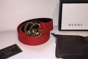 Gucci Red Black Belt for Sale in Queens, NY
