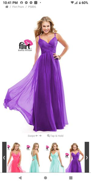 Brand New purple prom dress for Sale in Murray, UT