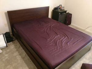 IKEA Queen Bed + Mattress for Sale in Washington, DC