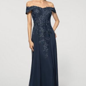 Brand New Navy Blue Formal Dress Size 14 for Sale in Miami, FL